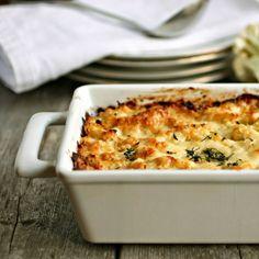 Hungry Couple: Cauliflower and Gruyere Gratin