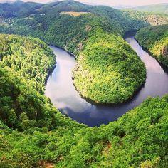 Vltava (Máj)  #river #purenature #nature #woods #tree #river #vltava #maj #moldau #view #amazing #natgeo #sky #clouds #iglifecz #czechrepublic #czech #photography #photographer