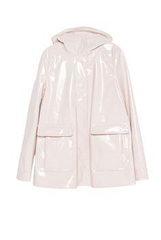 zara raincoat.