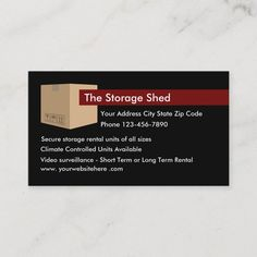 Storage For Rent, Storage Rental, Moving And Storage, Secure Storage, Small Business Cards, Business Card Size, Self Storage Units, Storage Spaces, Customer Service Quotes