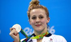 Double silver for Team GB underlines remarkable turnaround in Olympic pool  -  August 10, 2016  -      Siobhan-Marie O'Connor with her silver medal.