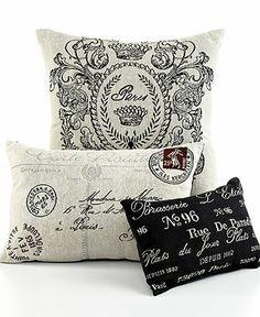 Park B. Smith Bedding, Vintage House Decorative Pillows - Decorative Pillows - Bed & Bath - Macys