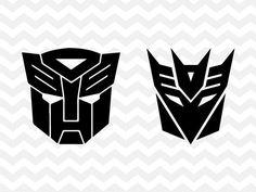 Transformers SVG, Autobots SVG, Decepticons SVG, Autobot Logo, Decepticon Logo, Transformers, svg, c