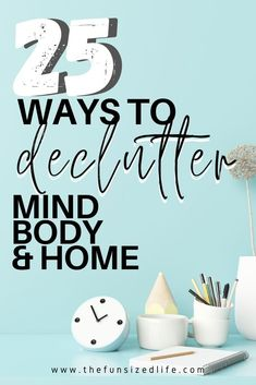 Decluttering goes so far beyond our stuff! Taking time to start a mind declutter is the best thing you can do! Get mind, body & home decluttering ideas! Spring Cleaning List, Cleaning Tips, Present Over Perfect, Declutter Your Mind, Konmari Method, Life Organization, Organizing, Simple Living, You Nailed It