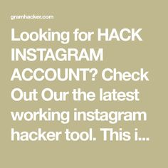 Looking for HACK INSTAGRAM ACCOUNT? Check Out Our the latest working instagram hacker tool. This is the only working hacking tool available right now. Instagram Hacks Followers, Instagram Tips, Instagram Accounts, Instagram Password Hack, Hack Password, Eyebrow Makeup Tips, I Love Girls, Cute Relationships, Dc Comics