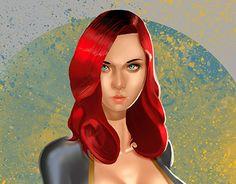 "Check out new work on my @Behance portfolio: ""bluegirl"" http://be.net/gallery/36577969/bluegirl"