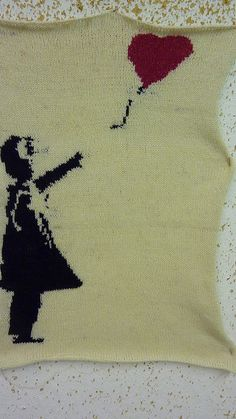 Knit a Banksy by Minimuffin, via Flickr