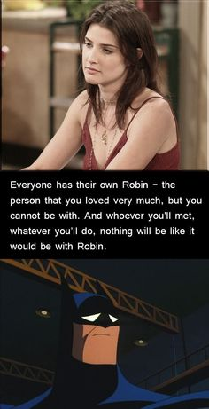 We all have a Robin...