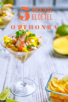 Coctel de camaron tropical con mango Tropical shrimp cocktail with mango by Chef Nacho Mango Cocktail, Cuban Cuisine, Tropical, Cooking Instructions, Latin Food, Mexican Dishes, Mexican Food Recipes, Catering, Meals