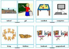 Woordkaarten school » Juf Sanne