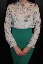 Blusas Femininas 2018 Mode Floral Tops Et Blouses Mujer Automne À Manches Longues Femme Chemises Imprimer Mousseline de Soie Femmes Blouses de la boutique en ligne | Aliexpress mobile
