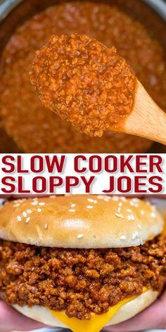 Crokpot Recipes, Slow Cooker Recipes, Cooking Recipes, Crockpot Meals, Chicken Recipes, Vegetarian Crockpot Recipes, Easter Recipes, Beef Freezer Meals, Recipe Chicken