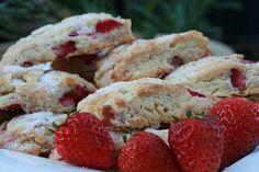 Strawberry Scones by Food Librarian, via Flickr