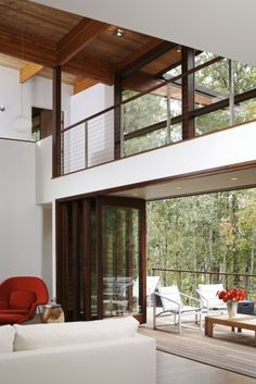 Serenbe Lane modern living room