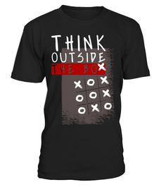 """# Think Outside The Box Funny Tic Tac Toe Tee Gift For Geeks .  Special Offer, not available in shops      Comes in a variety of styles and colours      Buy yours now before it is too late!      Secured payment via Visa / Mastercard / Amex / PayPal      How to place an order            Choose the model from the drop-down menu      Click on """"Buy it now""""      Choose the size and the quantity      Add your delivery address and bank details      And that's it!      Tags: Think Outside The Box…"""