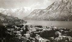 Cernobbio paesaggio con neve 1915 G