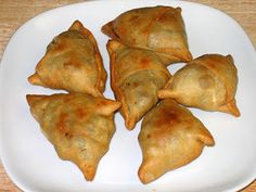 Beef Samosa ( Sambusa) - A traditional food in Tanzania. Join our next trip at www.globalcitizens.org!