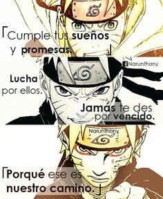 Anime | Frases | Phrases | Naruto | Frases anime | Frases de anime | Frases Naruto | Frases de Naruto | Naruto Shippuden | Quotes | Anime boy | Sad | Narunthony | Desmotivaciones | Pensamientos |