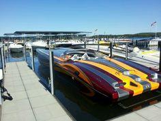 MTI power boat