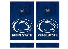 penn state corn hole | Penn State Cornhole Game Decal Set