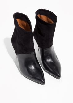 & Other Stories | Loose Leather Ankle Boot
