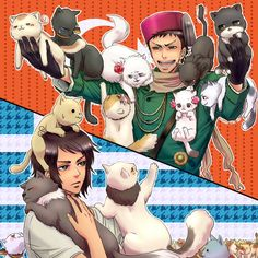 Turkey: Look at all these cats I got, Greece! - Greece: ...Whatever. ~Hetaia ~Nekotalia