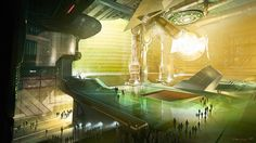 Michael Pedro Concept Art and Illustration Sci Fi Fantasy, Fantasy World, Dc Universe Online, Concept Art World, Futuristic Technology, Science Fiction Art, Art Portfolio, Sci Fi Art, Illustration Art