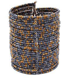 Beaded Hoop Bracelet