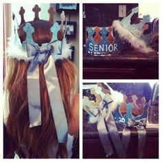 abigailjayden | made our senior crowns #2013 @geraldine_94