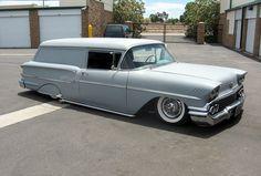 How to Build a Time Machine : Photo Hot Rod Trucks, Chevy Trucks, Pickup Trucks, Chevrolet Sedan, Chevrolet Impala, Classic Trucks, Classic Cars, Station Wagon Cars, Panel Truck