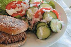 Hjemmelagde hamburgere