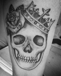 Tattoo #calavera #tattooGirls