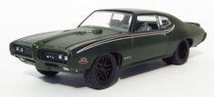 1/64 diecast collector: 1969 PONTIAC GTO JUDGE (AUTO-DRIVERS rel.01no.01) ...