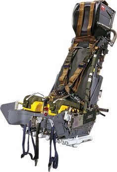 The design envelope flexibility enables the seat to be perfectly matched to any existing or future cockpit space limitations. Fighter Aircraft, Fighter Jets, Astronaut Wallpaper, Uss Enterprise Cvn 65, Ejection Seat, Plane Photos, Model Airplanes, Cool Chairs, War Machine