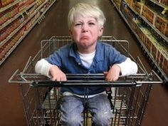 Most every parent fears that inevitable moment in the store when all eyes are on them because their adorable child is having a full-fledged temper tantrum.