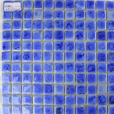 Glazed Porcelain Tiles Blue Backsplash Ideas 1 x 1 In. Ceramic Modern Tile Patterns for Bathrooms Glass Tile Backsplash, Glass Mosaic Tiles, Backsplash Ideas, Kitchen Backsplash, Mosaic Tile Designs, Bathroom Design Layout, Black Interior Doors, Interior Design Software, Tile Patterns