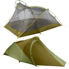The North Face Tadpole tent. 5 lbs- so light! Backpacking Tent, Camping Glamping, Camping And Hiking, Family Camping, Camping Hacks, Camping Gear, Camping Essentials, Outdoor Fun, Outdoor Camping