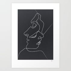 Buy Close Noir Art Print by quibe. Worldwide shipping available at Society6.com. Just one of millions of high quality products available.