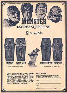 Monster spoons