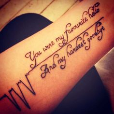 Memorial quote tattoo idea for arm nana tattoo, grandpa tattoo, rip tattoo Rip Tattoos For Mom, Tattoos To Honor Mom, In Loving Memory Tattoos, Daddy Tattoos, Father Tattoos, Tattoos For Daughters, Tatoos, Rip Grandpa Tattoo, Daughter Tattoos