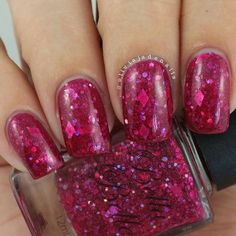 Diamond In The Rough Valentines polish by BBNailCouture on Etsy