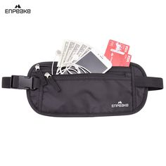 Enpeake Money Belt - Hidden Waist Pack for Running, Traveling, Hiking with RFID Blocking - Comfortably Secures Money, Passport, Phone. Safe & Secure - Protects your phone, money, credit cards, and passport with its compact storage that's easy to hide under your jacket or shirt. The RFID blocking material keeps your identity and personal information safe from RFID scanning. Multi-Use Purpose - Its comfortable design makes it a perfect accessory not only for traveling, but also running and...
