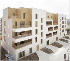 Immeuble de logement, TVK Architectes. ZAC du Chaperon Vert, Arcueil. | Archiref