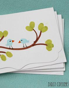 Mother's Day Fingerprint Cards #MyPerfectMothersDay