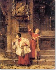 José Benlliure Gil (Valencia, 1855-Valencia, 1937) fue un pintor español. Nació en el barrio de Cañamelar, en el seno de una familia de amplia tradición artística, no obstante, su propio hermano fue el escultor Mariano Benlliure, y él más tarde fue uno de los maestros de su otro hermano, Juan Antonio Benlliure.