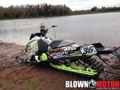 What do you guys think of this 2014 look alike Ski-Doo XM that will be racing the IWA circuit all summer!!  www.BLOWNMOTOR.com Photo Cred: David Fischer