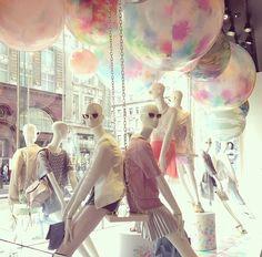 Top Shop Oxford Circus, London #inspiration #visualmerchandising #shopwindows #fashion #2014 #visualbydelook