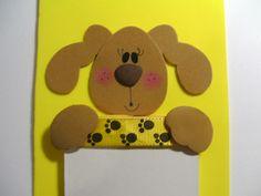 Bloquinho de cachorrinha com fitas Sinimbu - passo 10