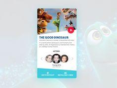 Movie Card Ui Design