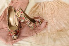 #Heels, #Floral, #Outfit